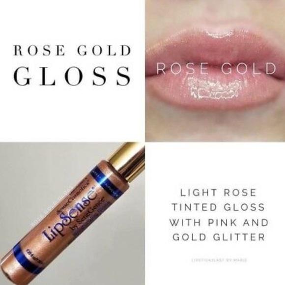 Rose Gold LipSense Gloss